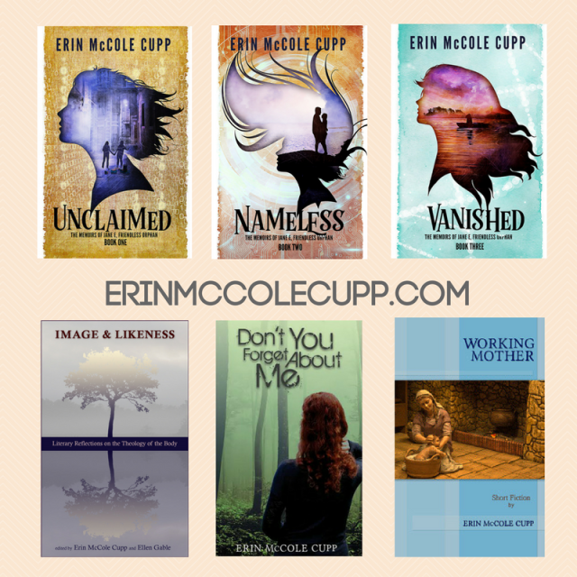 Faith, Fiction, and Love No Matter What: Get to know author Erin McCole Cupp