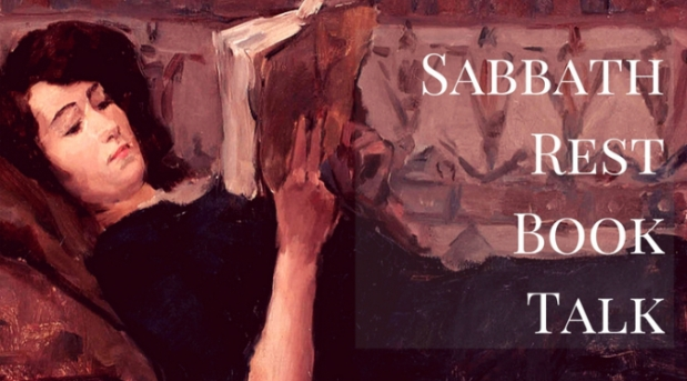 Sabbath Rest Book Talk: a monthly live interactive event where we talk about the value of fiction in developing compassion, empathy, and healthy relationships