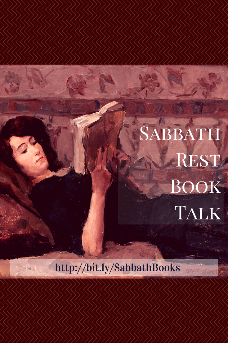 Sabbath Rest Book Talk: Where Fiction is Good for You! Join us for a monthly video exchange on how fiction makes us more human.