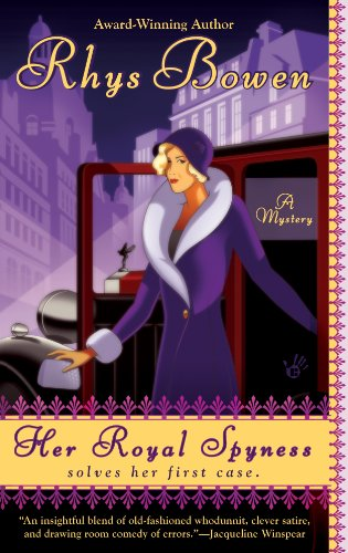 HER ROYAL SPYNESS SOLVES HER FIRST CASE, Review by Erin McCole Cupp for #OpenBook Wednesday