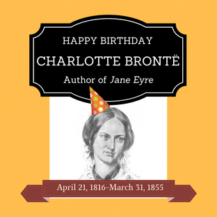 7 ways to celebrate Charlotte Bronte's Birthday!