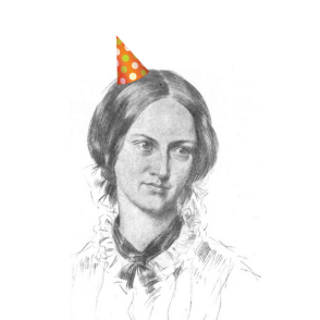 Celebrate Charlotte Bronte's Birthday in comfort and style--with a free tea party!
