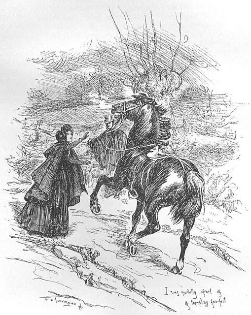 #3 Way to Celebrate Charlotte Bronte's Birthday: Knock Someone Off His High Horse! See this and more at erinmccolecupp.com