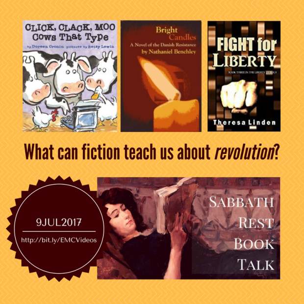 Sabbath Rest Book Talk: Where Fiction is Good For You!