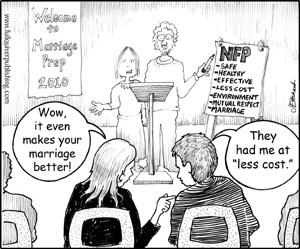 Cartoon copyright James & Ellen Hrkach/Full Quiver Publishing