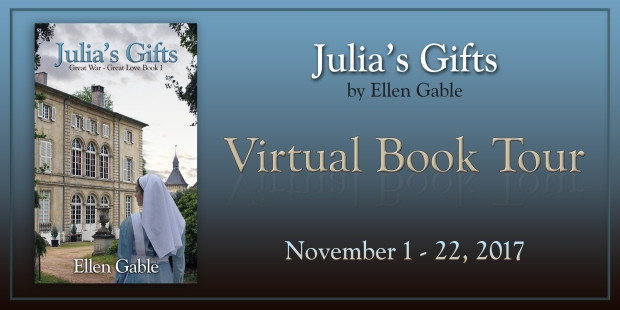 Julia's Gifts, clean romance by Ellen Gable (Great War-Great Love)